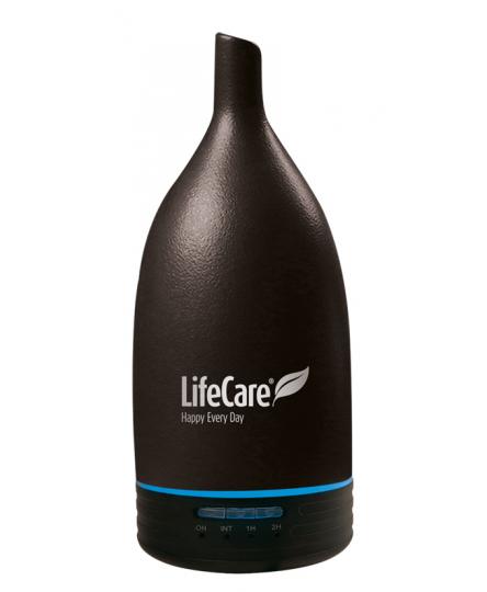 Aparat Aroma Diffuser Ceramic Black (Negru), Life Care®