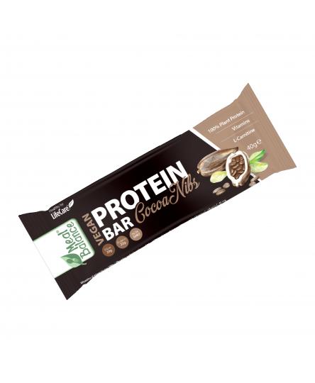 Baton Vegan Proteic cu boabe de cacao Meal Balance®