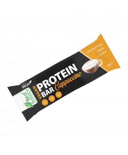 Baton Vegan Proteic cu Cappucino Meal Balance®