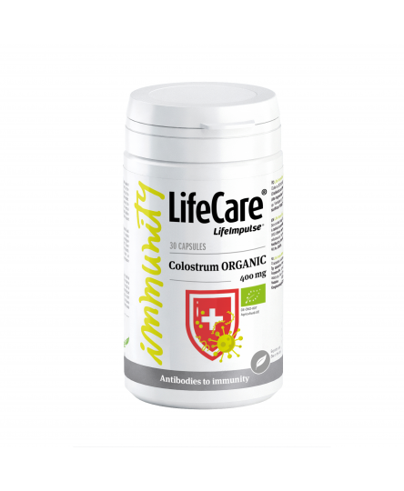 Colostrum Ecologic, 400 mg, Life Care®