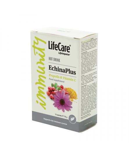 Life Impulse® EchinaPlus cu echinaceea, propolis si vitamina C