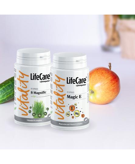 Pachet Happy Vitamin, complex vitamina B, E si Magneziu, Life Care®