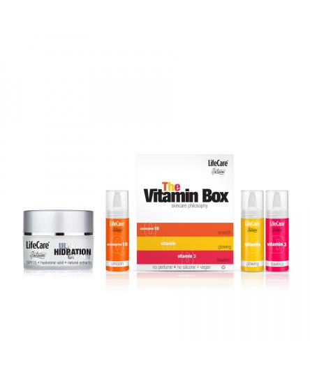 Pachet ingrijire ten, THE Vitamin BOX + ULTRA hydration Cream, Life Care®