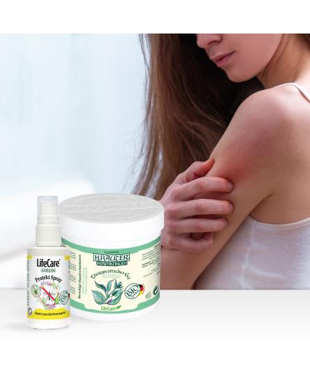 Pachet pentru calmarea si protectia pielii, cu menta BIO si citronela, Life Care®