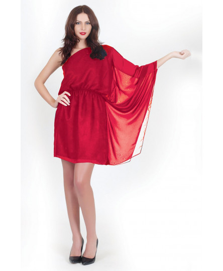 Rochie Rayna rosu M40 -So Love by Life Care®
