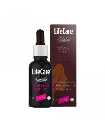 Ser pentru stimularea cresterii parului, cu cofeina si plante BIO, Life Care®
