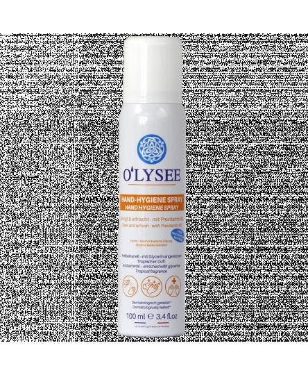 Spray pentru maini cu alcool si glicerina Olysée, 100 ml
