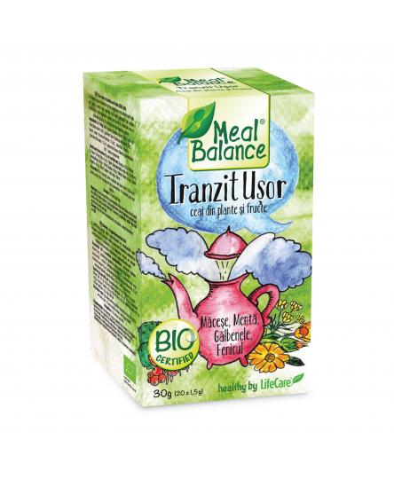 Tranzit Usor - Ceai ECO din fructe si plante Meal Balance®