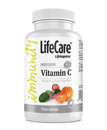 Vitamina C, XXL-1600 mg, Life Care®
