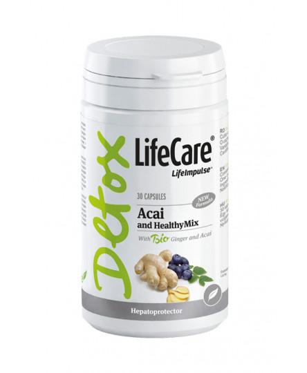 Acai HealthyMix, cu ghimbir si acai BIO, Life Care®