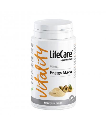 Energy Maca, cu Aschwagandha și Omega 3, Life Care®