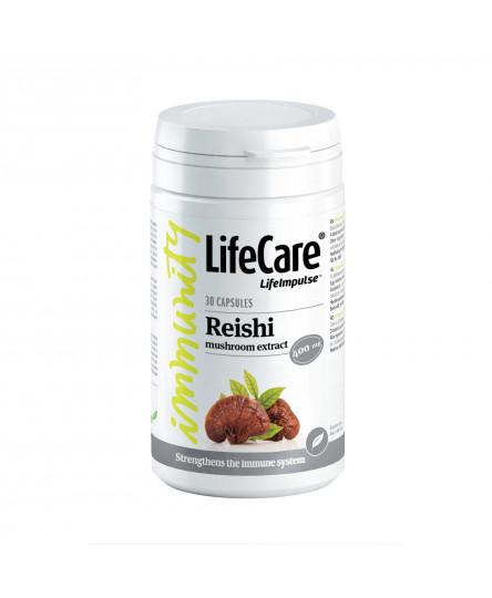 Extract de ciuperca Reishi, 400 mg, Life Care®
