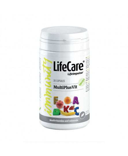 MultiPlusVit, cu vitamine si minerale, Life Care®