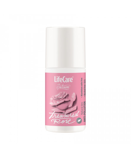 Natural deo, Treasured Rose, cu plante BIO, Life Care®