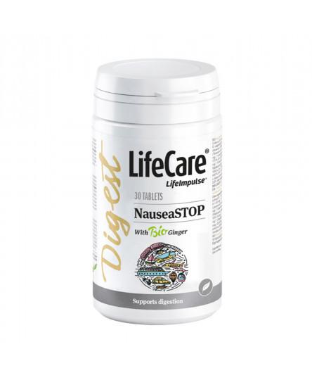NauseaSTOP, pastile pentru miscare libera, Life Care®