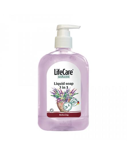 Sapun lichid 3 in 1, cu lavanda si plante BIO, Life Care®